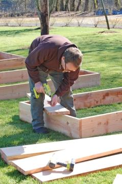 Building the YMCA Garden