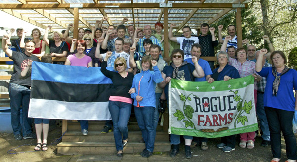 Growing The Revolution, 35 Estonians at a time!