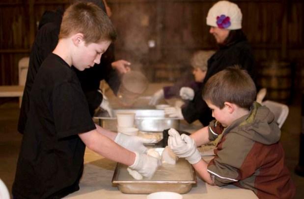 The 2013 DIY Workshop: Cheese Making at Rogue Farms.