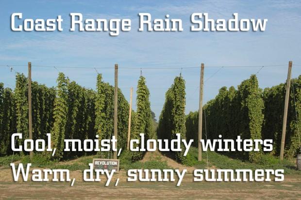 Coast Range Rain Shadow