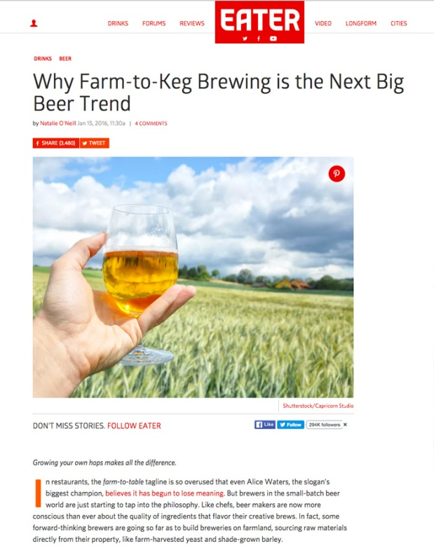 Farm To Keg Brewing