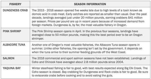 Seafood Landings